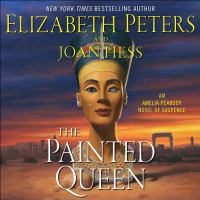 Cover image for The painted queen. bk. 20 [sound recording CD] : Amelia Peabody series