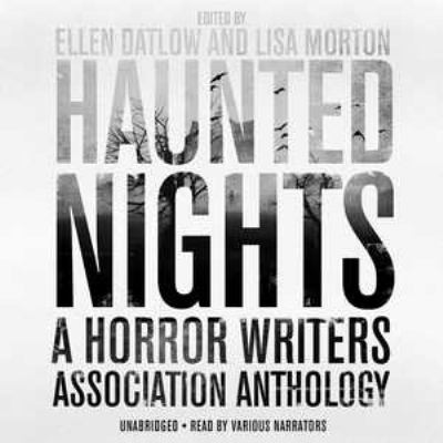 Cover image for Haunted nights [sound recording CD] : a Horror Writers Association anthology