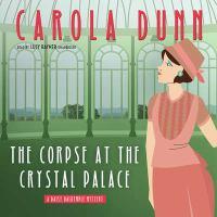Imagen de portada para The corpse at the Crystal Palace. bk. 23 [sound recording CD] : Daisy Dalrymple series