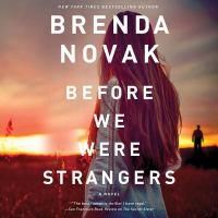 Cover image for Before we were strangers [sound recording CD]