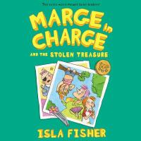 Imagen de portada para Marge in charge and the stolen treasure. bk. 2 [sound recording CD] : Marge series