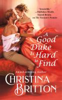 Cover image for A good Duke Is hard to find. bk. 1 : Isle of Synne series