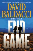 Cover image for End game. bk. 5 Will Robie series