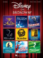 Cover image for Disney on Broadway : Piano/vocal/guitar.