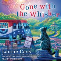 Imagen de portada para Gone with the whisker Bookmobile cat mystery series, book 8.