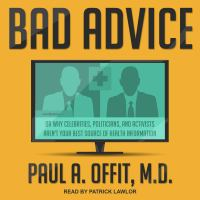 Cover image for Bad advice or why celebrities, politicians, and activists aren't your best source of health information
