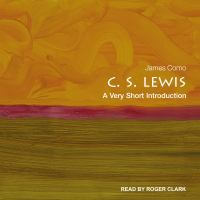 Cover image for C. S. lewis a very short introduction