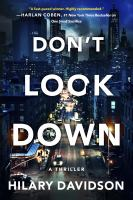 Cover image for Don't look down. bk. 2 : Shadows of New York series