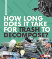 Cover image for How long does it take for trash to decompose?