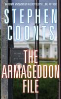 Cover image for The armageddon file. bk. 8 [sound recording CD] : Tommy Carmellini series