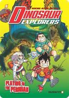 Imagen de portada para Dinosaur explorers. Vol. 3 [graphic novel] : Playing in the Permian