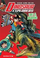 Imagen de portada para Dinosaur explorers. Vol. 5 [graphic novel] : Lost in the Jurassic