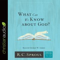 Cover image for What can we know about God?