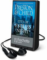 Imagen de portada para City of endless night. bk. 17 [Playaway] : Pendergast series