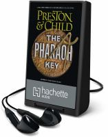Cover image for The pharoah key. bk. 5 [Playaway] : Gideon Crew series