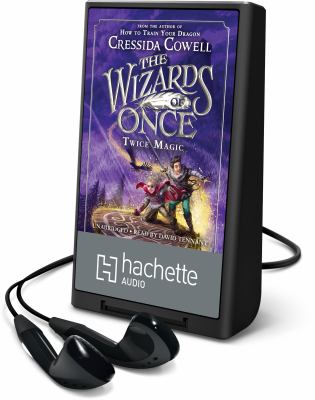 Cover image for Twice magic. bk. 2 [Playaway] : Wizards of once series