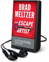 Cover image for The escape artist [Playaway] : a thriller