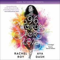 Imagen de portada para 96 words for love [sound recording CD]