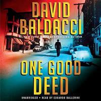 Cover image for One good deed [sound recording CD]