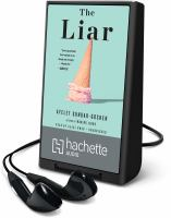 Cover image for The liar [Playaway]