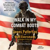 Cover image for Walk in my combat boots [sound recording CD]