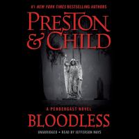 Cover image for Bloodless. bk. 20 [sound recording CD] : Pendergast series