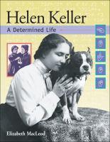 Cover image for Helen Keller : a determined life