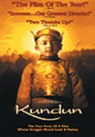 Cover image for Kundun [videorecording DVD]