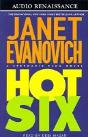 Cover image for Hot six, Book 6  Stephanie Plum series