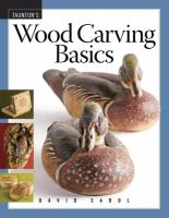 Cover image for Wood carving basics