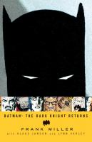 Cover image for Batman [graphic novel] : The Dark Knight returns