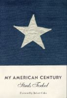 Cover image for My American century