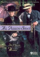 Cover image for All passion spent