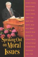 Imagen de portada para Morality : speaking out on moral issues