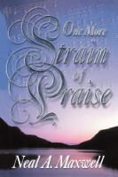 Cover image for One more strain of praise