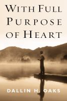 Cover image for With full purpose of heart