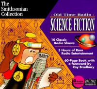 Cover image for Old time radio, Science fiction