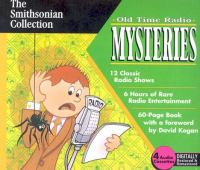 Cover image for Old time radio mysteries
