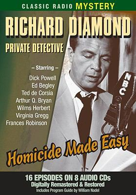 Cover image for Richard Diamond, private detective [sound recording CD] : Shamus.