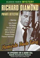 Cover image for Richard Diamond, private detective [sound recording CD] : Shamus.