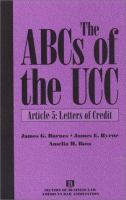 Cover image for The ABCs of the UCC. Article 5, Letters of credit