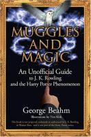 Cover image for Muggles and magic : J.K. Rowling and the Harry Potter phenomenon