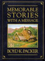 Cover image for Memorable stories with a message
