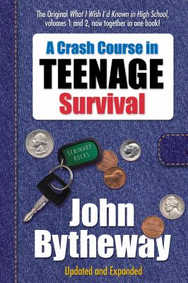 Cover image for A crash course in teenage survival