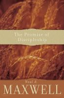 Cover image for The promise of discipleship