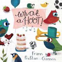 Cover image for What a hoot! [board book]
