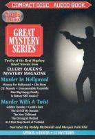 Cover image for Murder in Hollywood Murder with a twist.