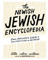 Cover image for The newish Jewish encyclopedia : from Abraham to Zabar's and everything in between
