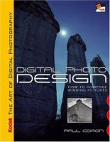 Cover image for Digital photo design : how to compose winning pictures