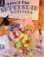 Cover image for Manga pro superstar workshop : how to create and sell comics and graphic novels